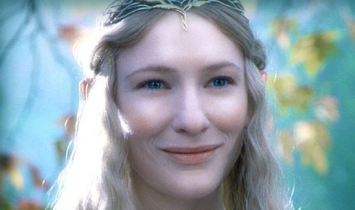 반지의 제왕 바탕화면 possibly with a portrait called Galadriel