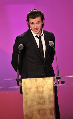 Gaspard Uliel Presenting at the Cesar Awards