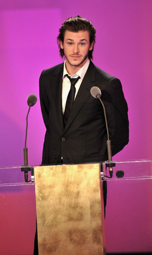 Gaspard Ulliel Presenting at the Cesar Awards 2