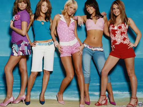 Girls Aloud 壁紙