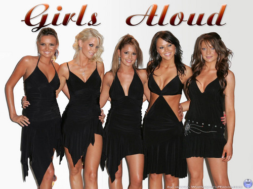 Girls Aloud پیپر وال
