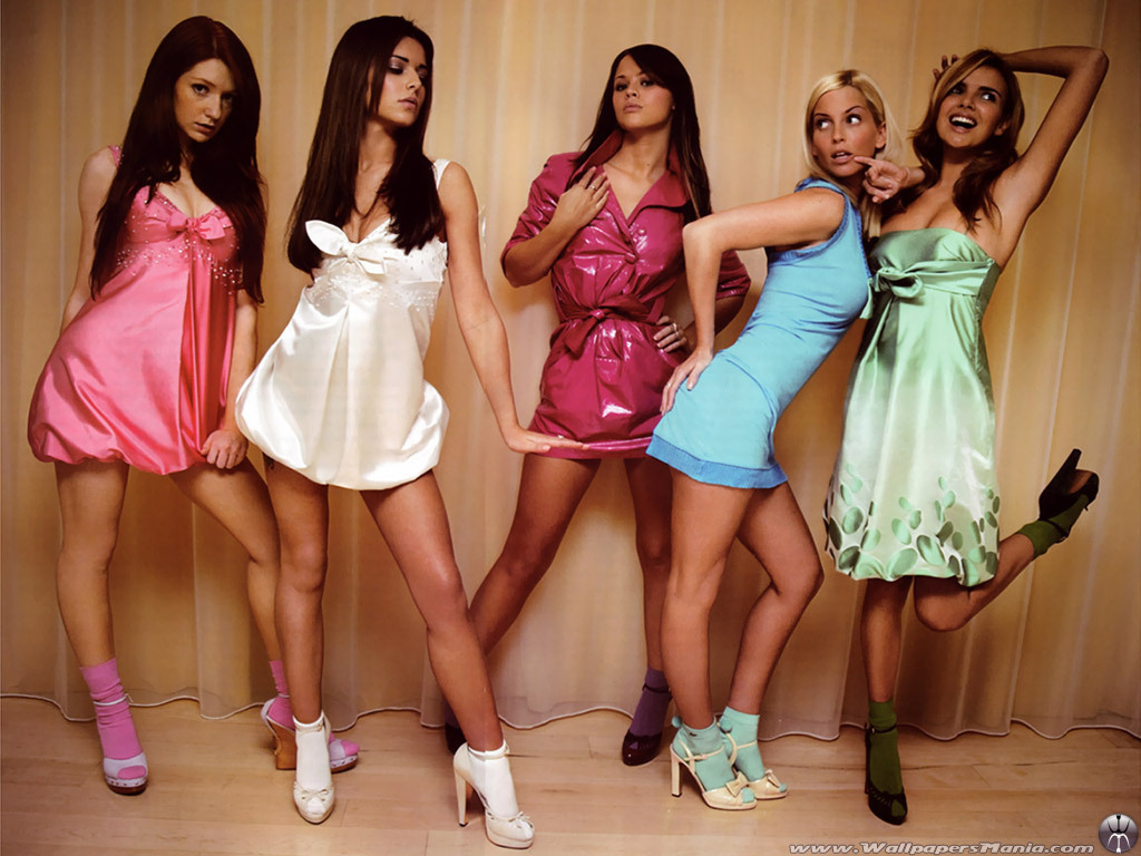 Group of sexy girls