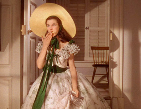 Vivien Leigh wallpaper containing a snap brim hat, a sombrero, and a campaign hat called Gone With The Wind