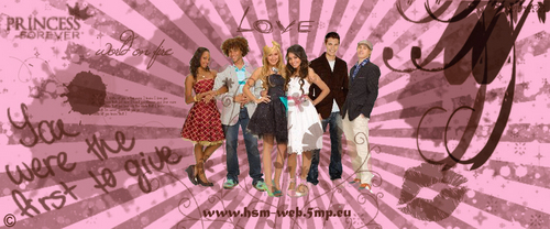 High School Musical wallpaper with a parasol called HSM