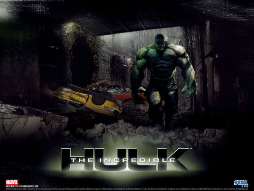 Marvel Comics wallpaper entitled Hulk