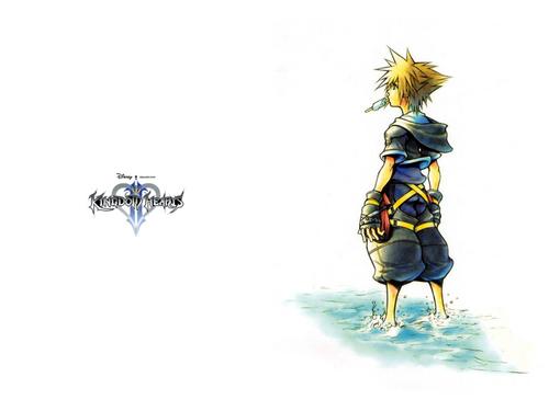 Kingdom Hearts 2 fond d'écran called KH2