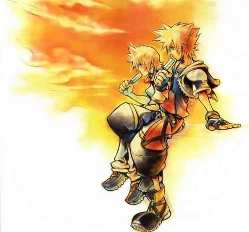 Kingdom Hearts 2 fond d'écran containing animé entitled KH2