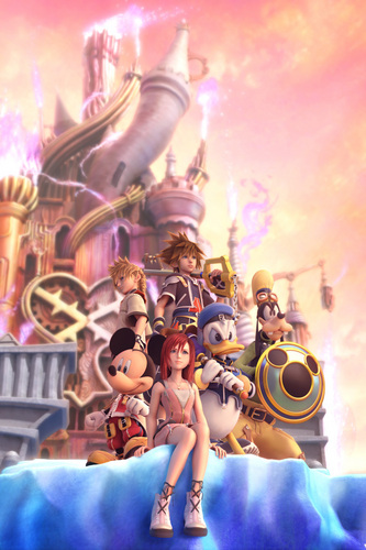 Kingdom Hearts 2 fond d'écran called KH2