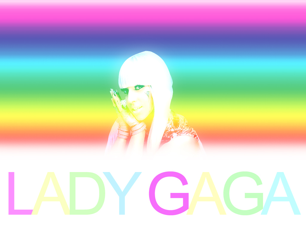 Lady GaGa Wallpapers - Colors - lady-gaga wallpaper