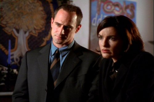 Elliot and Olivia wallpaper containing a business suit, a suit, and a three piece suit entitled Limitations