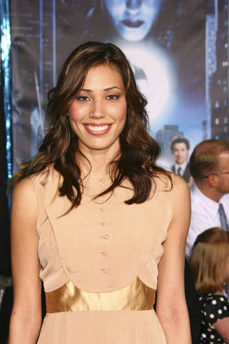 Michaela Conlin wallpaper possibly with a dress and a cocktail dress entitled Michaela