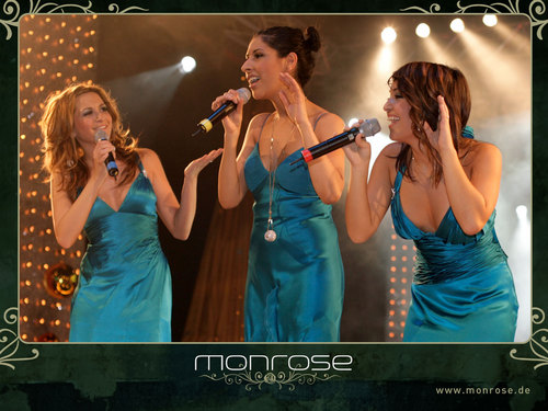 Pop wallpaper with a konser entitled Monrose wallpaper