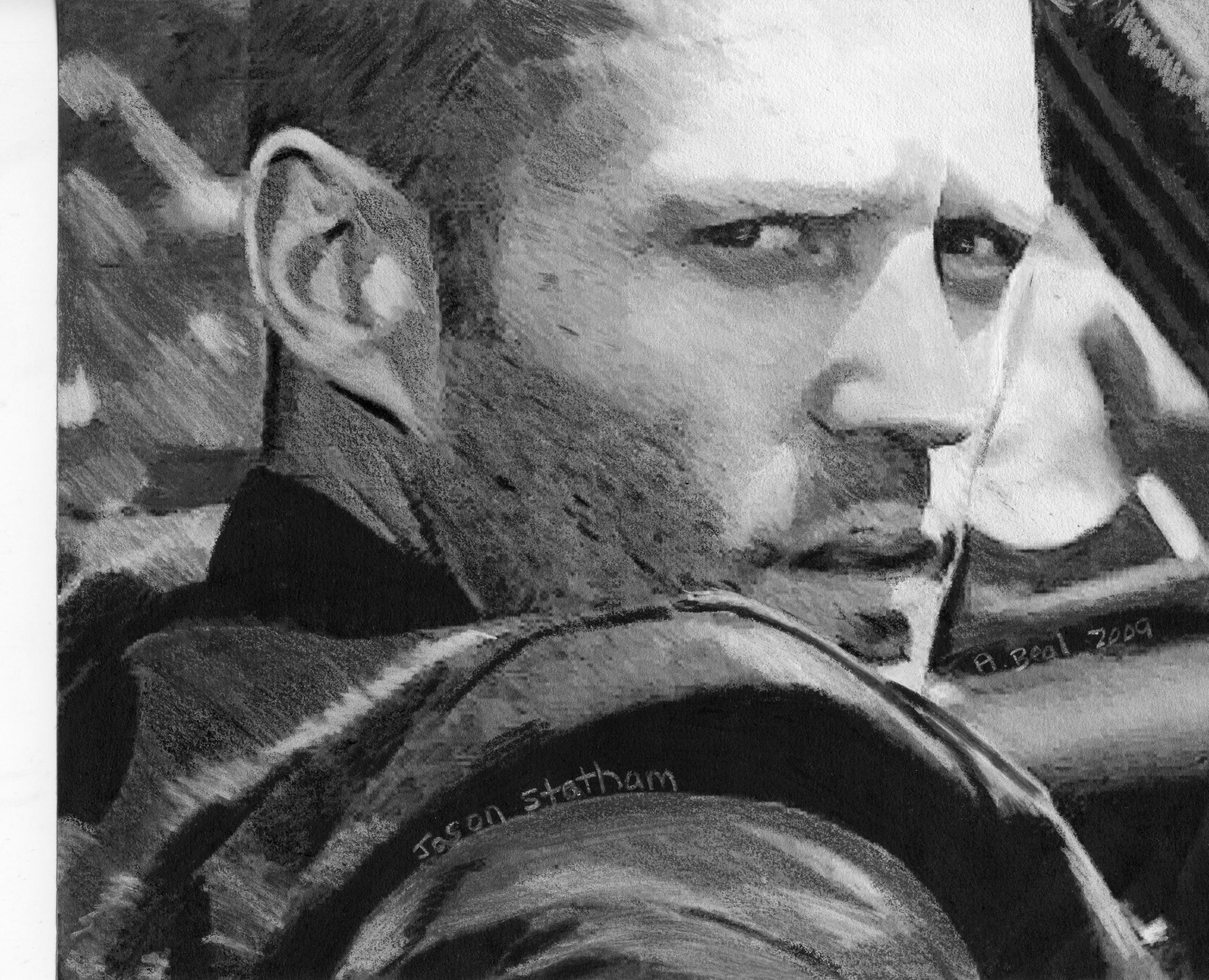 My Jason Statham art