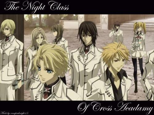 vampire knight wallpaper containing a portrait called Night Clss