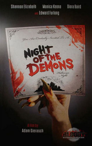 Night of the Demons remake poster