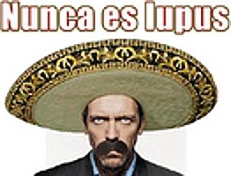 House, M.D. karatasi la kupamba ukuta with a sombrero entitled Nunca es Lupus (Resized)
