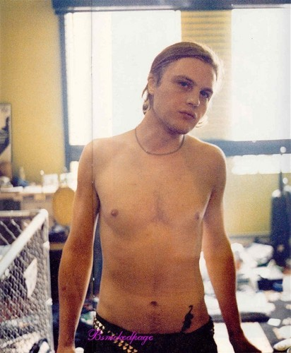 Michael Pitt wallpaper containing a hunk titled Nylon