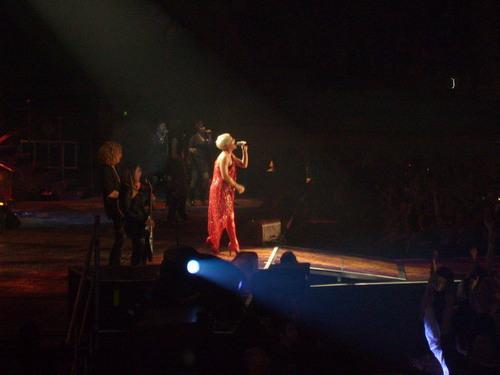 P!nk Funhouse Tour Ahoy Rotterdam 28-02-09