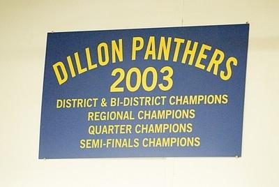 Panthers Locker Room