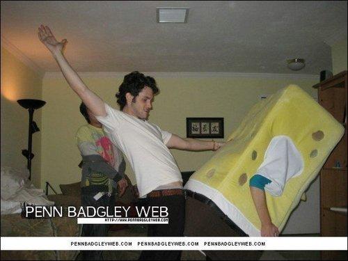 Penn bonking Sponge Bob!