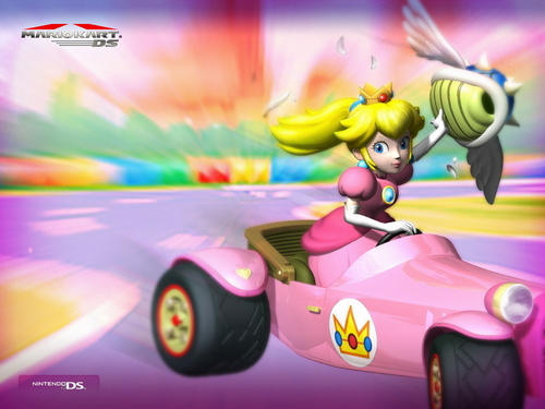 Princess Peach- Mario Kart