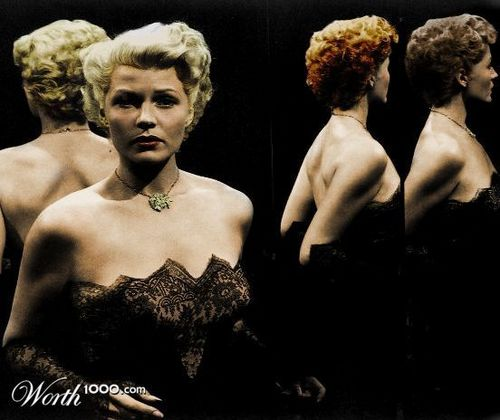 Rita Hayworth (colorized)