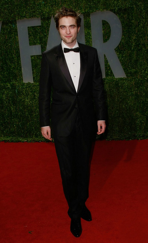 Robert Pattinson at the 81st Academy Awards
