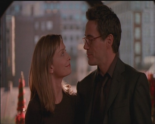 Robert Downey Jr karatasi la kupamba ukuta with a business suit titled Robert on Ally Mcbeal 4x07