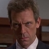 Dr. Gregory House photo with a business suit, a suit, and a judge advocate entitled SHAVED!