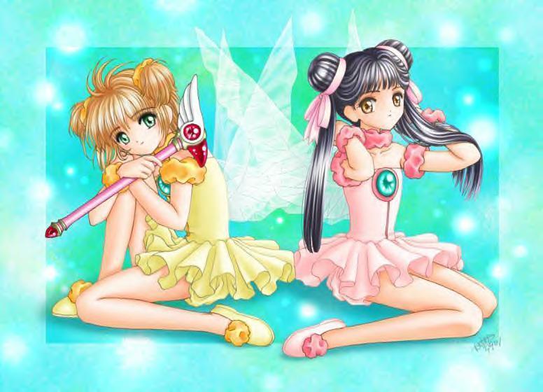 Sakura and Meilin