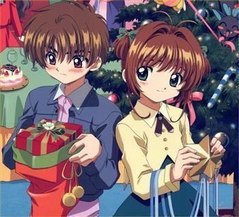 Cardcaptor Sakura پیپر وال with عملی حکمت entitled Sakura and Syaoran