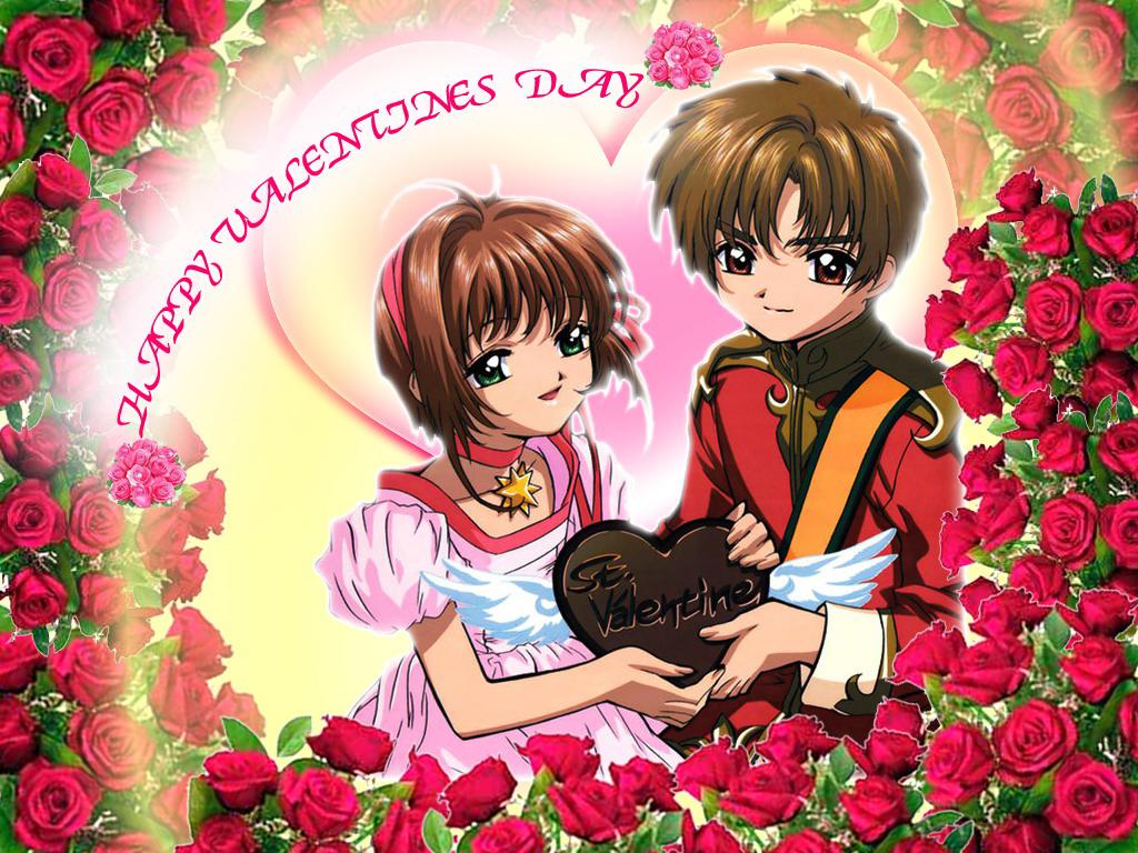 Sakura and Syaoran  Cardcaptor Sakura Wallpaper 4586686  Fanpop