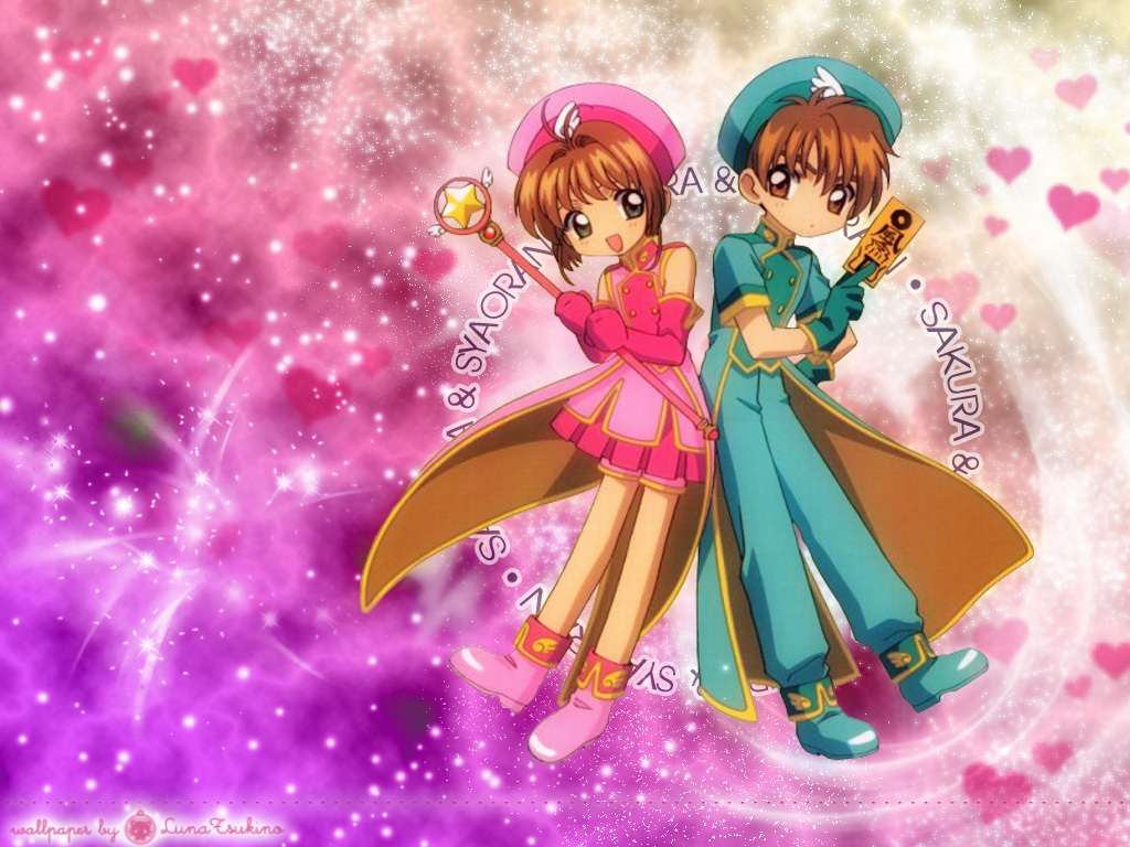 Cardcaptor Sakura images Sakura and Syaoran HD wallpaper and