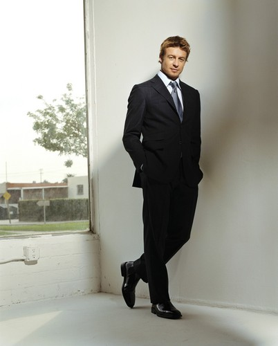 Simon Baker wallpaper containing a business suit, a suit, and a two piece titled Simon Baker