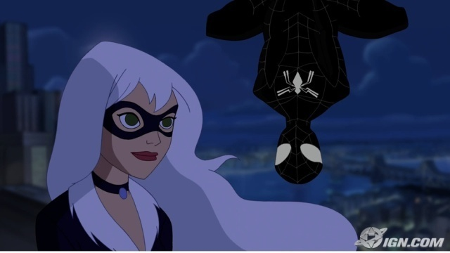 Spidey Wth The Black Cat The Spectacular Spider Man