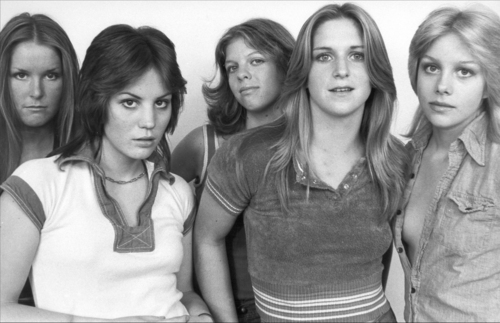 the runaways wallpaper possibly containing a portrait called The Runaways - 1976