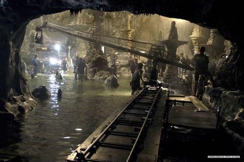 The cave stills