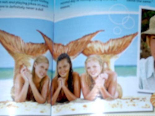The girls as মৎসকুমারী