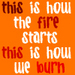 This is How the Fire Starts - gemma-doyle-trilogy icon