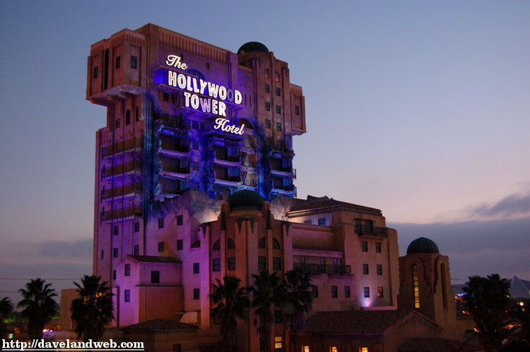 Tower of Terror California Adventure