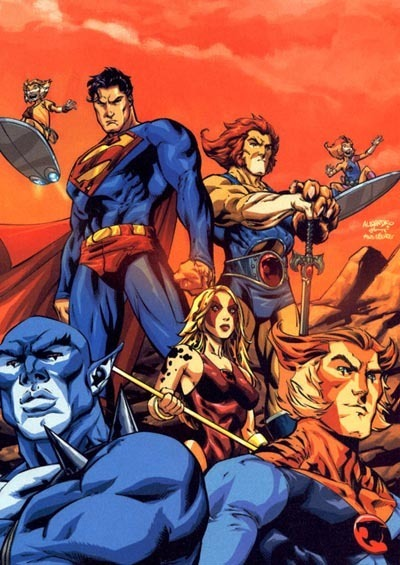 thundercats images tundercats superman crossover wallpaper and