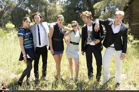Twilight Cast fotografia shoot