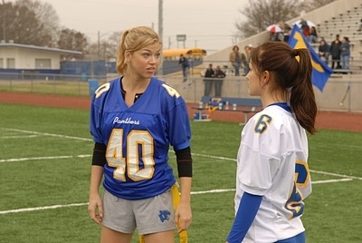 Friday Night Lights wallpaper titled Tyra & Lyla