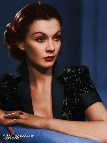 Vivien Leigh (Colorized)
