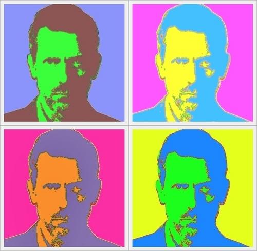 Warhol-ish Hugh 2