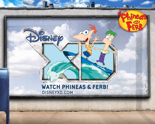 Watch Phineas and Ferb on 迪士尼 XD