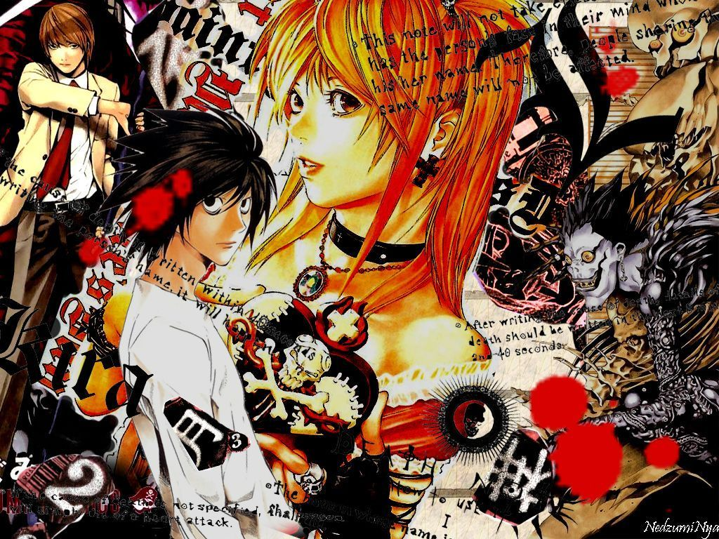 Note Mangas Images Note Wallpaper Hd Wallpaper And Background Photos