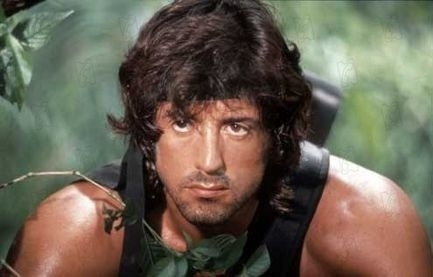 Action Films wallpaper possibly with a portrait entitled john Rambo is so cute!!!!!
