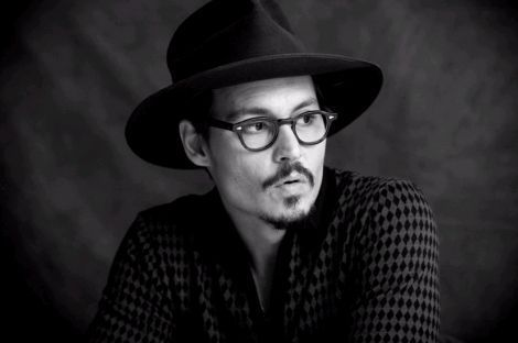 Johnny depp images johnny depp black and white wallpaper and background photos