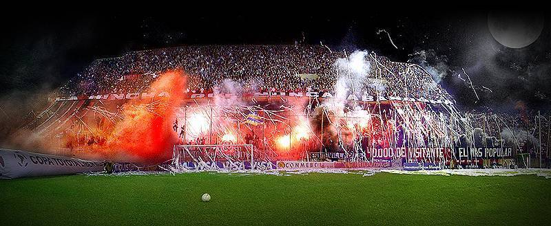 Newell's Old Boys Images Nob's Fans At A Night Match